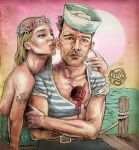 The Sailor and the Mermaid by ismaComics