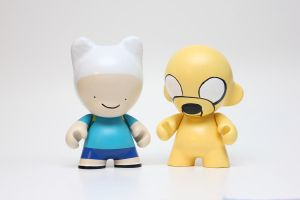 Adventure Time Munny by spilledpaint88