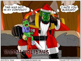Happy Holidays by cross-bonez