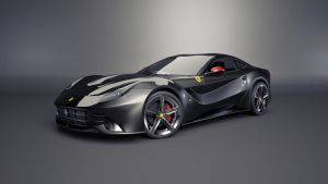 Black Ferrari F12 berlinetta by fishsnack