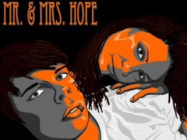 Mr. and Mrs. Hope by DominiqueSnazzy