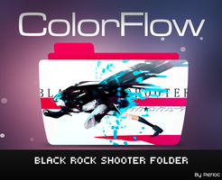 Colorflow Black Rock Shooter by pierloc