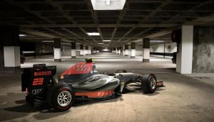 Audi F1 Concept v2 Composite by motionmedia
