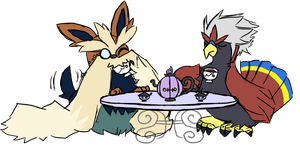 Tea Time, Old Bean by Lexial-XIII