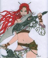 Nariko - Heavenly Sword by Slayer730