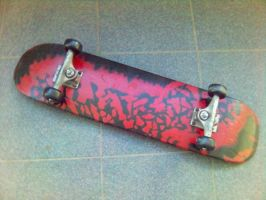 My Skateboard by admx