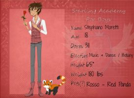 Stephano Moretti - Starling Academy by flamingmarshmallows