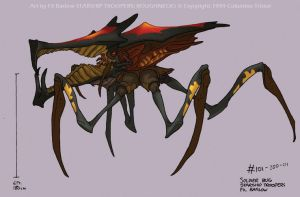 Original Warrior Bug Design by filbarlow