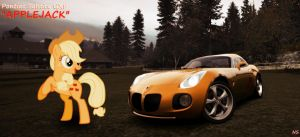 Applejack's Pontiac Solstice by NSDrift