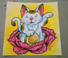 Lucky Cat by CraftyTibbles