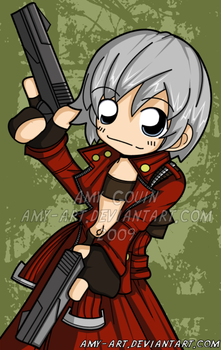 Dante - Devil May Cry by amy-art
