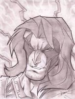 Zartan Sketch Shot by StevenSanchez