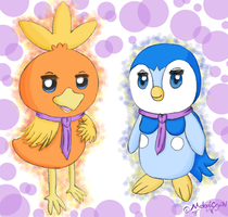 Kai and Pochama formal dressed by MelodyCrystel