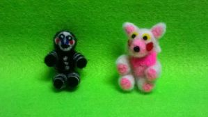 Five nights at Freddy's mangle and marionette by dogcat123434