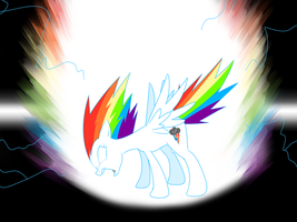 Super Rainbow Dash, Ascending by MysteryFanBoy718