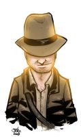 Indiana Jones by JustinPeterson