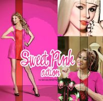 Sweet Pink action by lucyannaaa