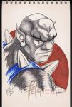COPIC sketch 26 PANTHRO by FranciscoETCHART