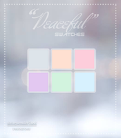Swatches-Peaceful by shinywonderland