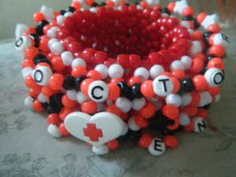 kandi:9 prescription cuff 2 by leggsXisXawsome