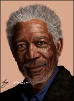morgan freeman by Tolio-Design