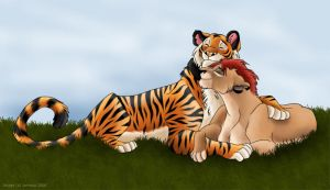 Kiara and Rajan by Jenreca
