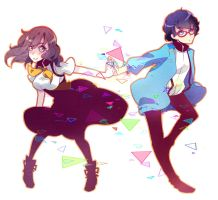 Gatchaman Crowds by marialife