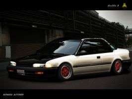 Honda accord cb7 by doubleart