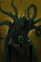 Dark Young, Priest of Hastur by elvasquito