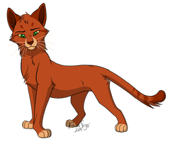 WCC collab - Firestar by KaiserTiger