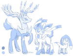 Ponymon Sketches by TariToons