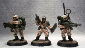 Cadian Infantry by Elmo9141