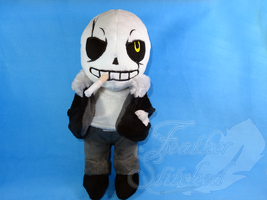 Gaster!Sans Plush. by FeatherStitched