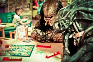 Alien vs Predator :Scrabble edition by PedroTpredator