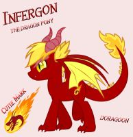 Infergon The Dragon Pony by Doragoon