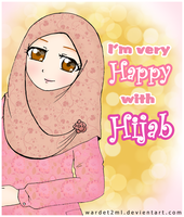 I'm very happy with hijab by wardet2ml