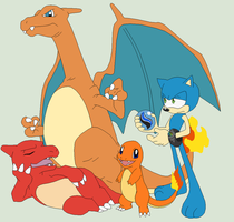 Pokemon Base 77~Mobian Charizard Trainer~ by Xbox-DS-Gameboy