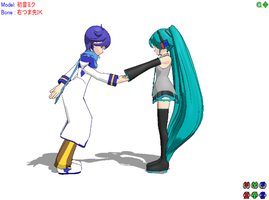 Give Me Your Hand -MMD- by RanmaGirlSaotome