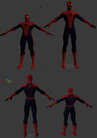 Spider-man model edit thingy by Superman999