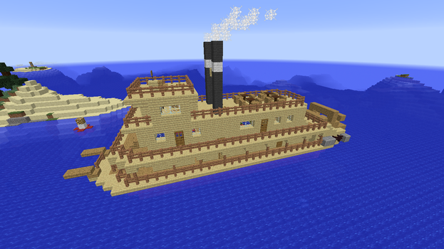 Riverboat build 1 by ColtCoyote