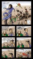 Poor Sokka by nillia
