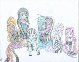 MHAndMHOCsTogether4(Colored) by violetemo16