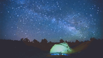 Youtube Wallpaper Art - Camping at the pixel night by LucasK4UZ