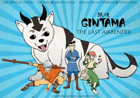 Gintama: The Last Airbender by spartydragon