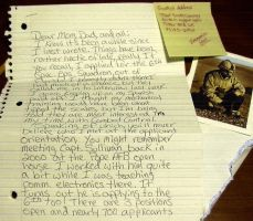 TSGT Crawley's Letter Home by Ironpaw