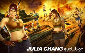 Julia Chang : Evolution by hivelooks