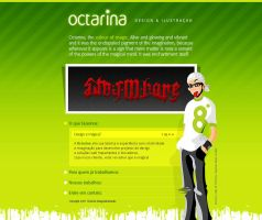 Octarina Website 2007 by RaphaelAleixo