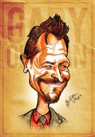Gary Oldman Caricature by libran005