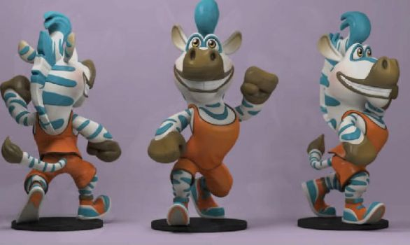 Zbrush Tutorial Toy Sculpting by avcgi360