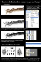 Hair and Stamps Brush tutorial by Kittyd-Stock